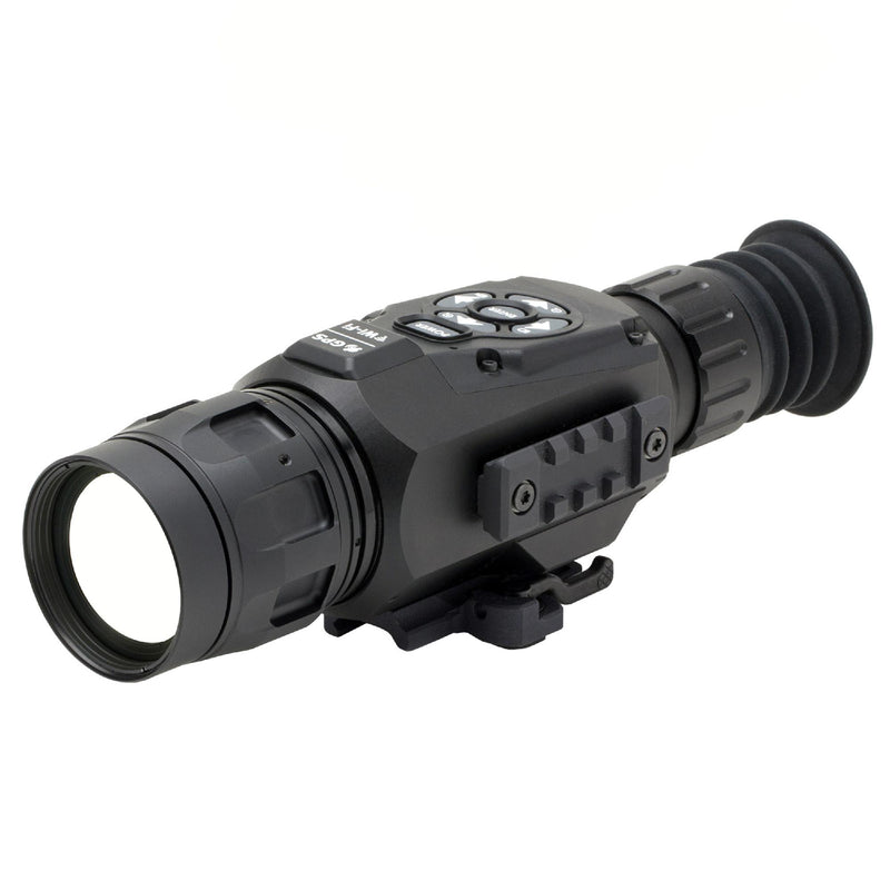 ATN ThOR HD Thermal Rifle Scope - 2.5-25x, 50mm 640x480, HD Video Recording, Wi-Fi, GPS, Smooth Zoom, Matte Black