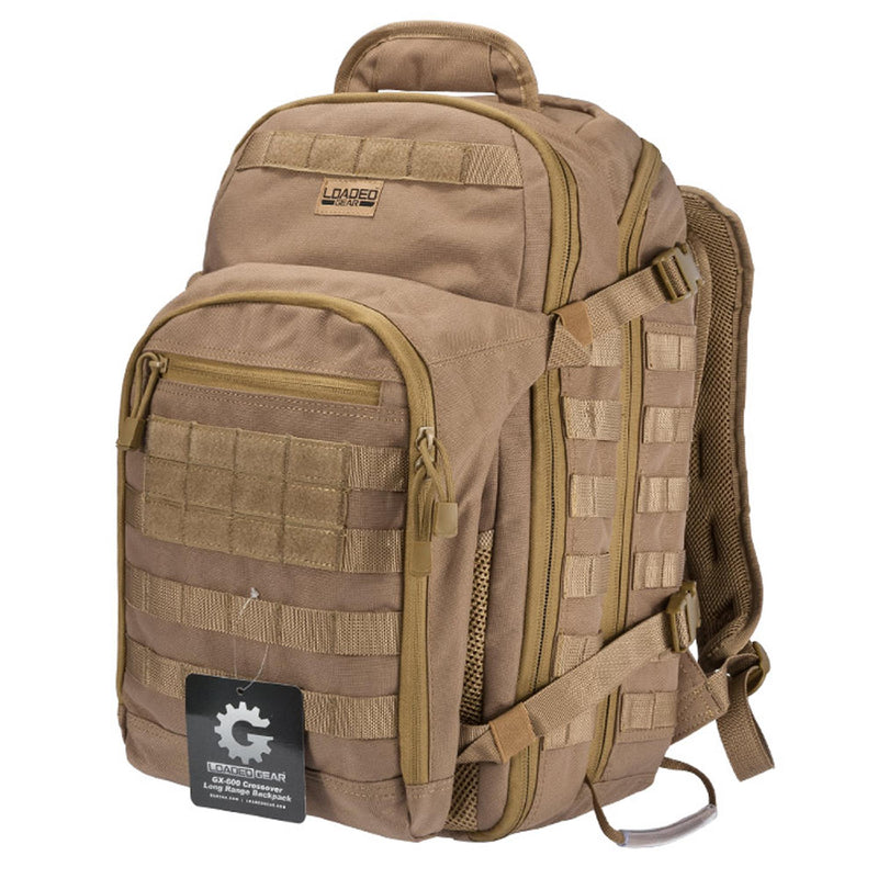 Barska  Crossover Long Range Backpack - GX-600, Dark Earth