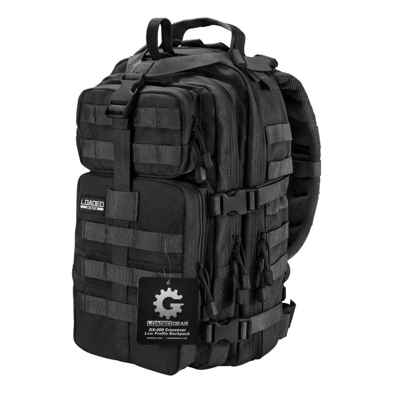Crossover Low Profile Backpack - GX-400, Black