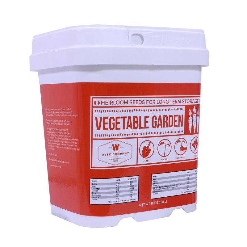 Vegetable Bucket - Everlasting Heirloom Seed