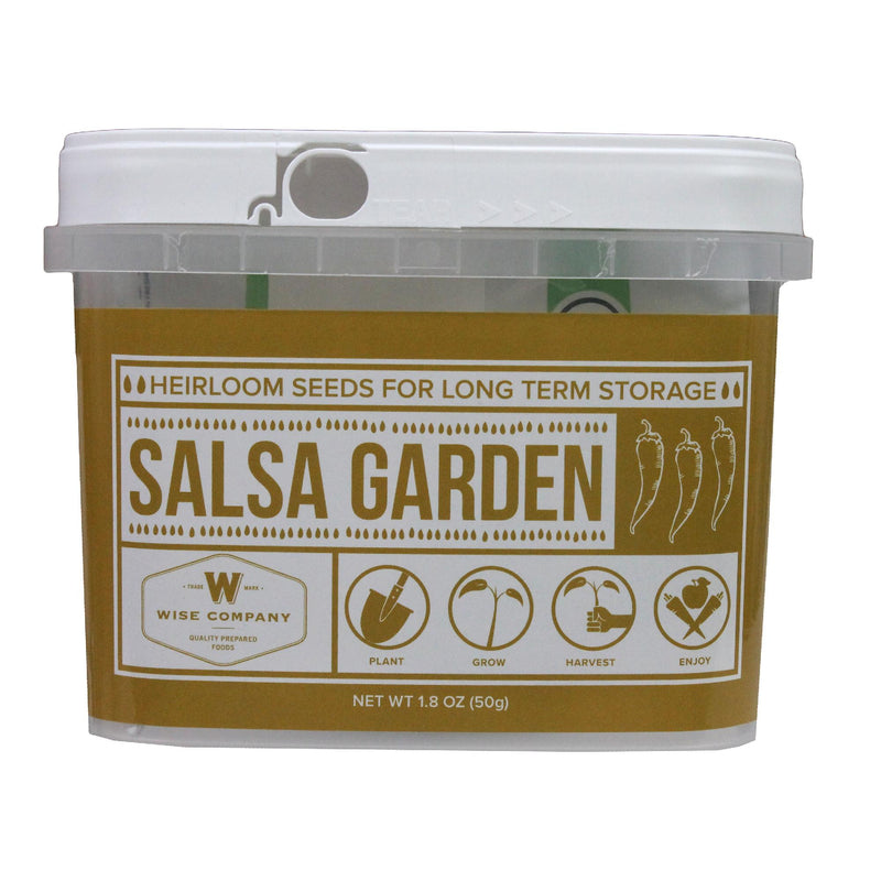 Wise Salsa Heirloom Seed Bucket