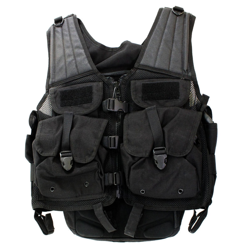 Load Bearing Launcher Vest, Black