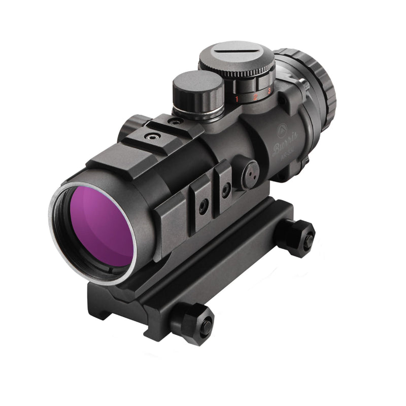 Burris AR Tactical Sight - AR-332, 3x32mm, Prism Sight Ballistic CQ Reticle, Matte Black
