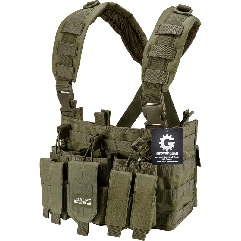 Barska Tactical Chest Ring - CX-400, Olive Drab Green