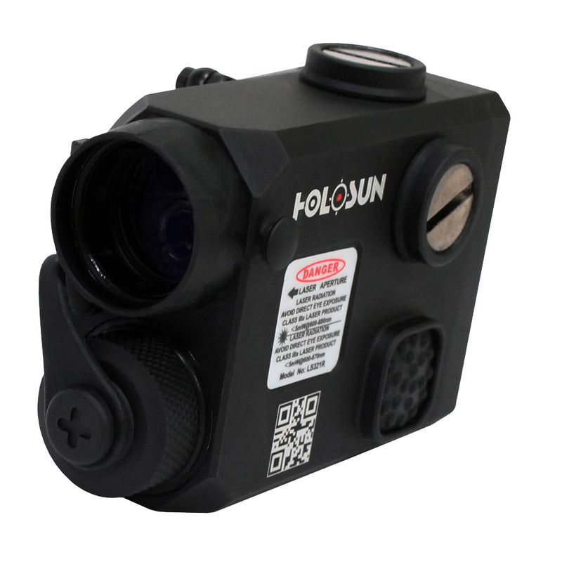 Holosun Co-Aligned Visible Laser - Red with IR and IR Illuminator
