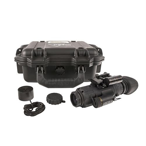 IR Patrol Thermal Monocular - M300W, 1x19mm 640x480 Rifle-Mounted Kit with Wilcox Shoe Interface-Flip Mount