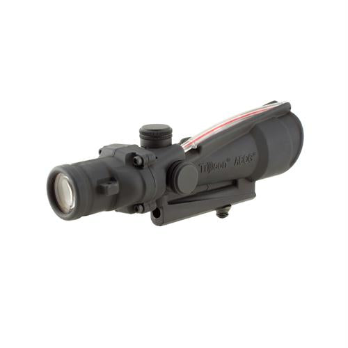 ACOG 3.5x35mm Dual Illuminated Scope - Red Donut BAC Reticle (Calibrated for .308 (7.62mm)), Black