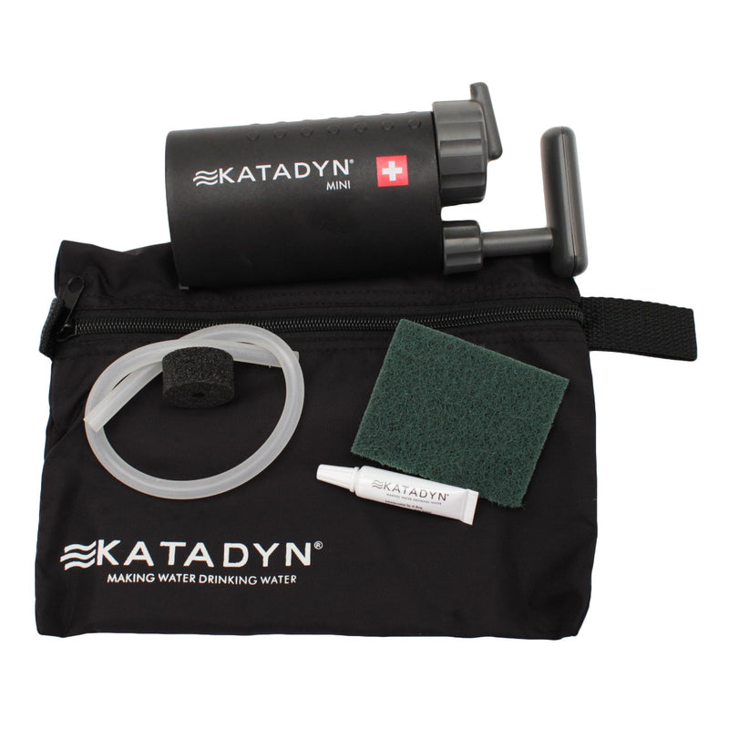 Katadyn Mini Ceramic Microfilter, Black