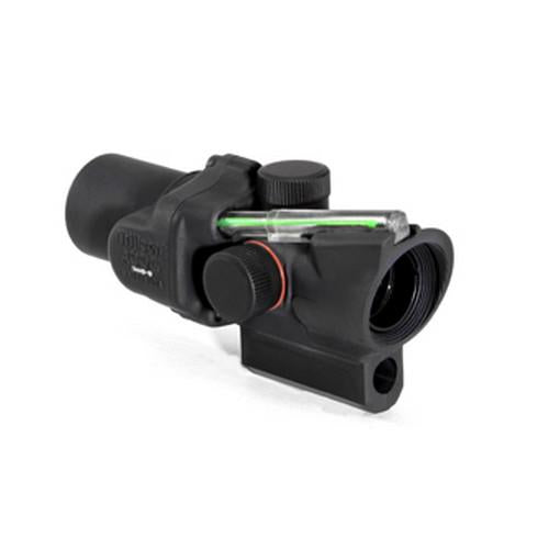 ACOG 1.5x16S Compact Dual Illuminated Scope - Green Ring & 2 MOA Center Dot Reticle Black