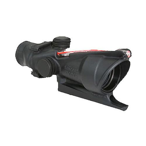 ACOG 4x32mm Dual Illuminated Scope - Red Triangle Reticle BAC, Black