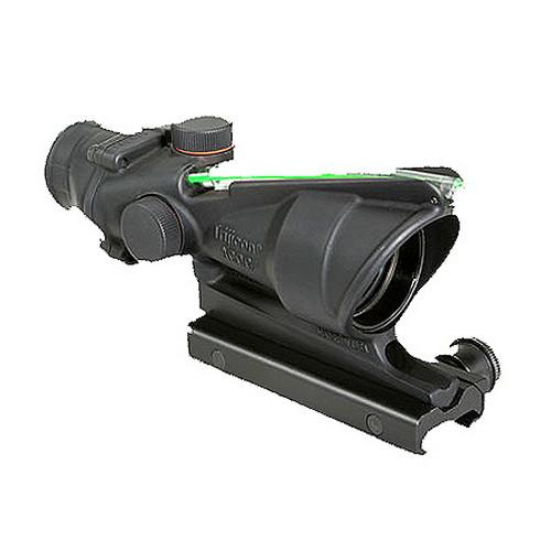 ACOG 4x32mm Dual Illuminated Scope - Green Crosshair .223 Ballistic Reticle with TA51 Mount, Black