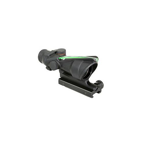 ACOG 4x32mm Dual Illuminated Scope - Green Horseshoe-Dot 6.8 Ballistic Reticle with TA51 Mount, Black