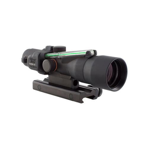 ACOG 3x30mm Compact Dual Illuminated Scope - Green Horseshoe-Dot 7.62x39-123gr Ball Reticle with Colt Knob Thumbscrew Mount