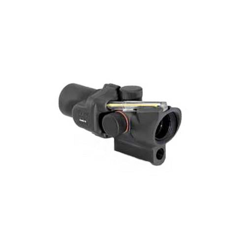 ACOG 1.5x16S Compact Dual Illuminated Scope - Green Ring-2 MOA Center Dot Reticle with M16 Carry Handle Base, Black