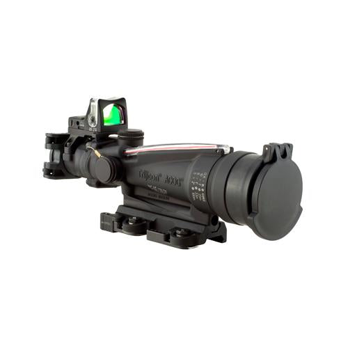 ACOG 3.5x35mm Dual Illuminated Scope - Red Horseshoe-Dot, M249 Ballistic Reticle-RMR Sight, and LaRue Tactical Mount