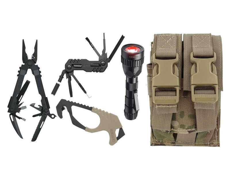 Gerber Individual Deployment Kit, TAN499, MultiCam