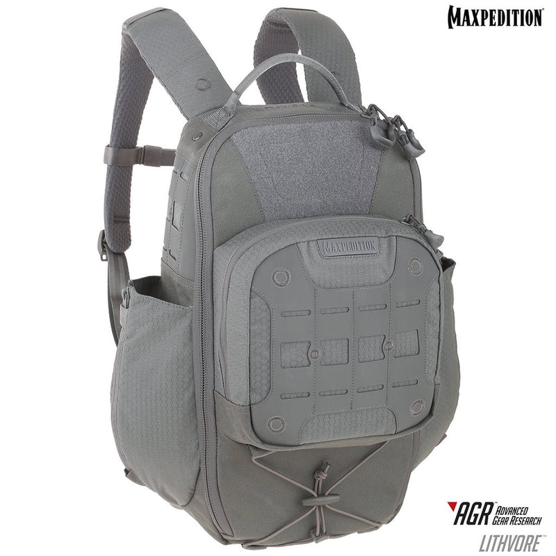 "Maxpedition Lithvore Gray 16.5""L x 9""W x 17""H"