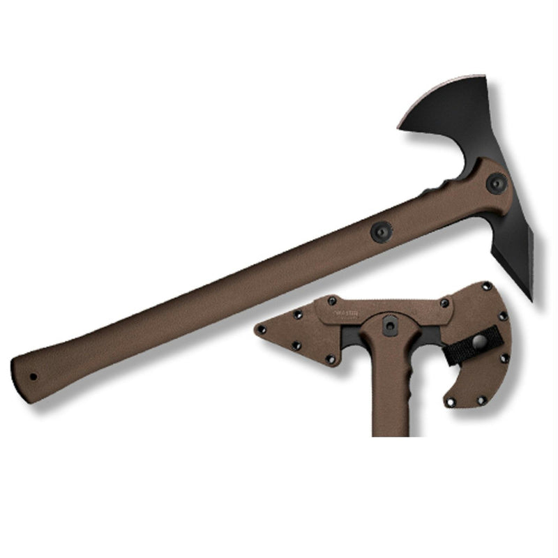 Cold Steel Trench Hawk Axe 19in Overall - Flat Dark Earth
