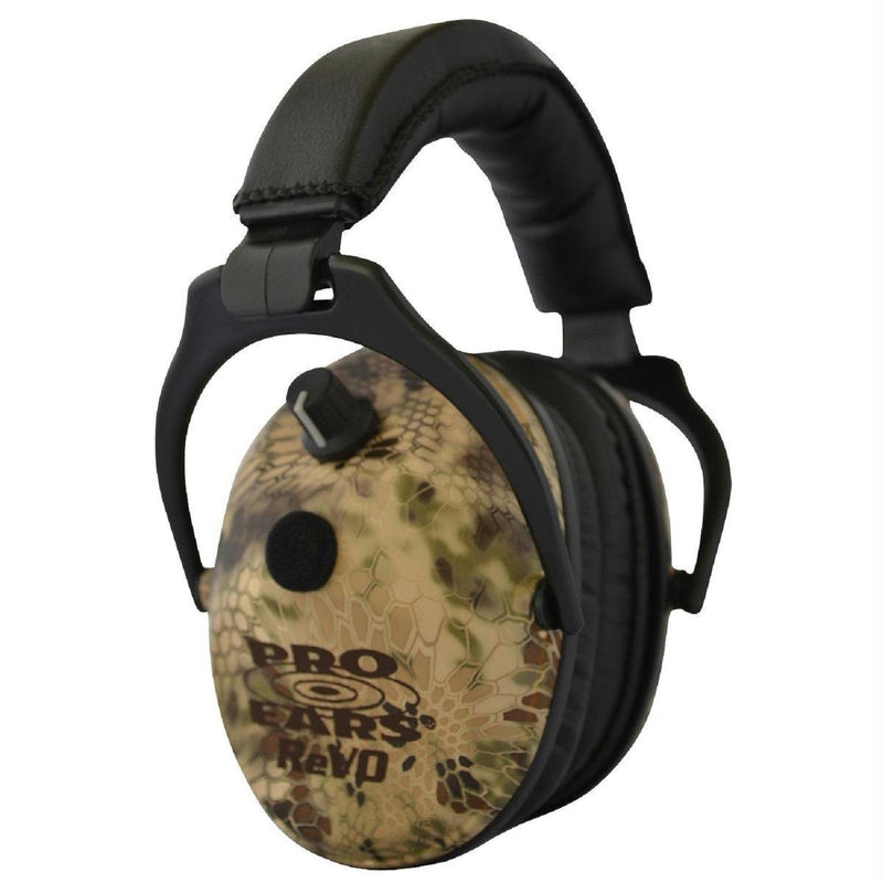 Pro Ears ReVO Electronic Ear Muffs - NRR 25 Highlander