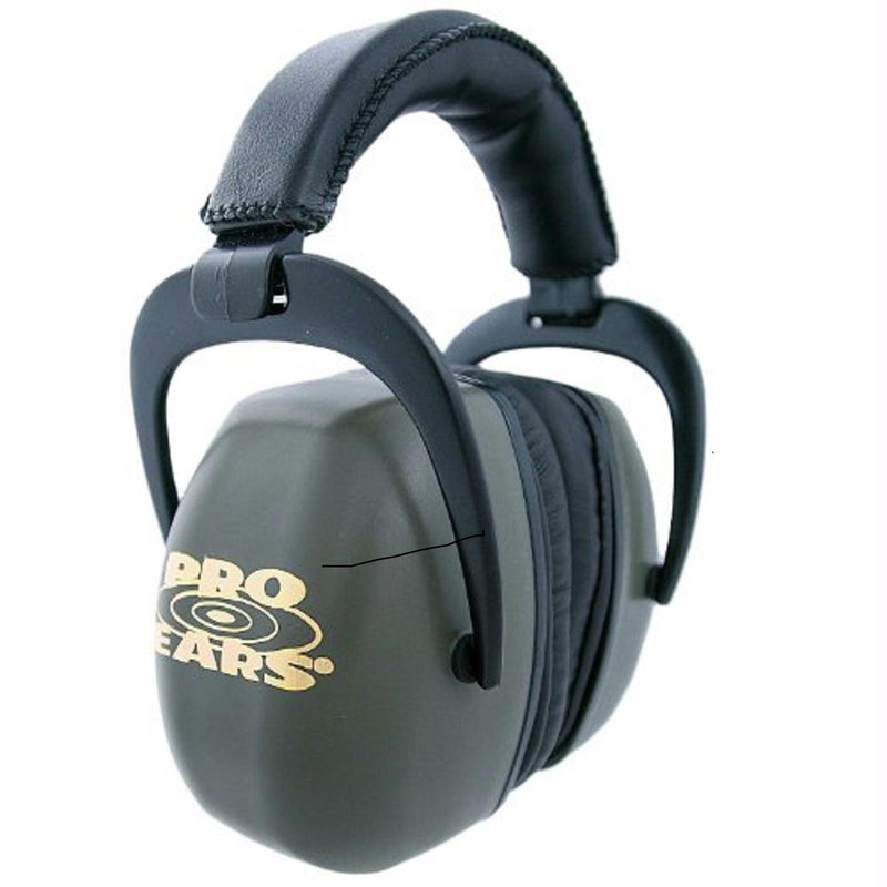 Pro Ear Muffs Ears Ultra Pro Ear Muffs - NRR 30 Green