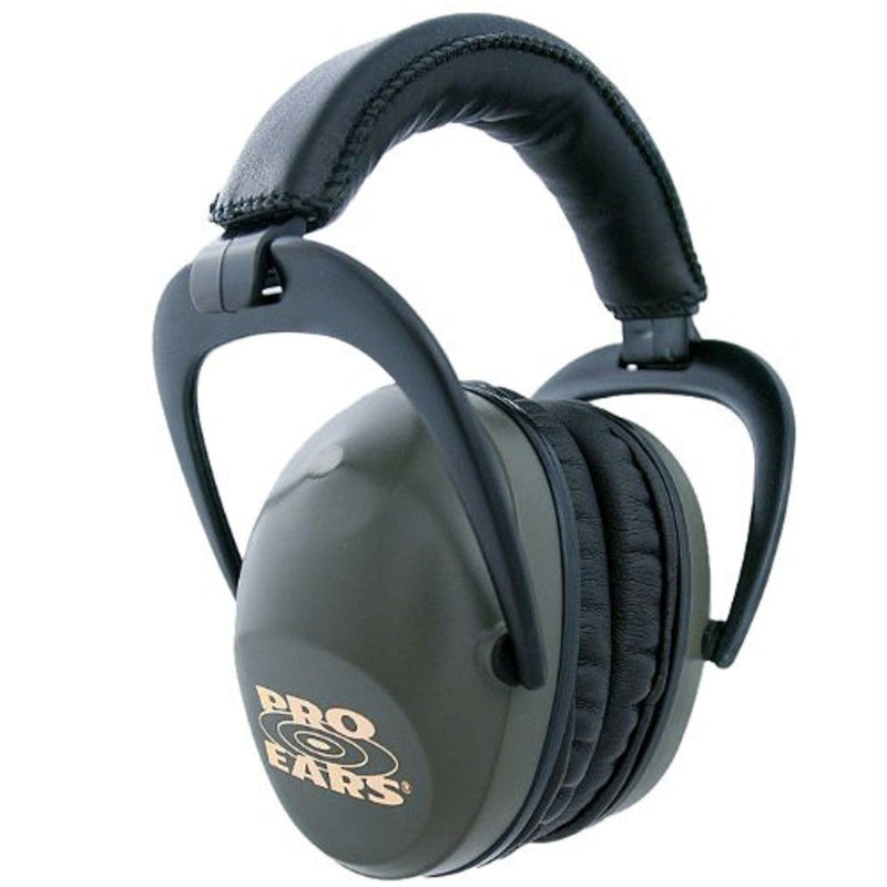 Pro Ears Ultra Sleek Ear Muffs NRR 26 Green