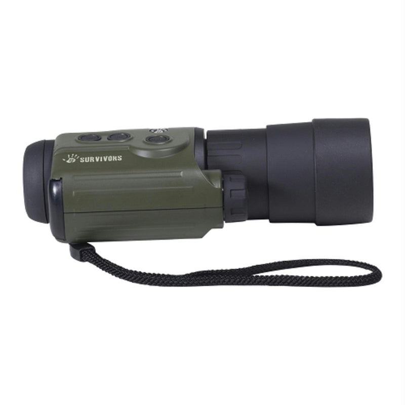 12 Survivors Trace 5x50 Digital NV Recording Monocular