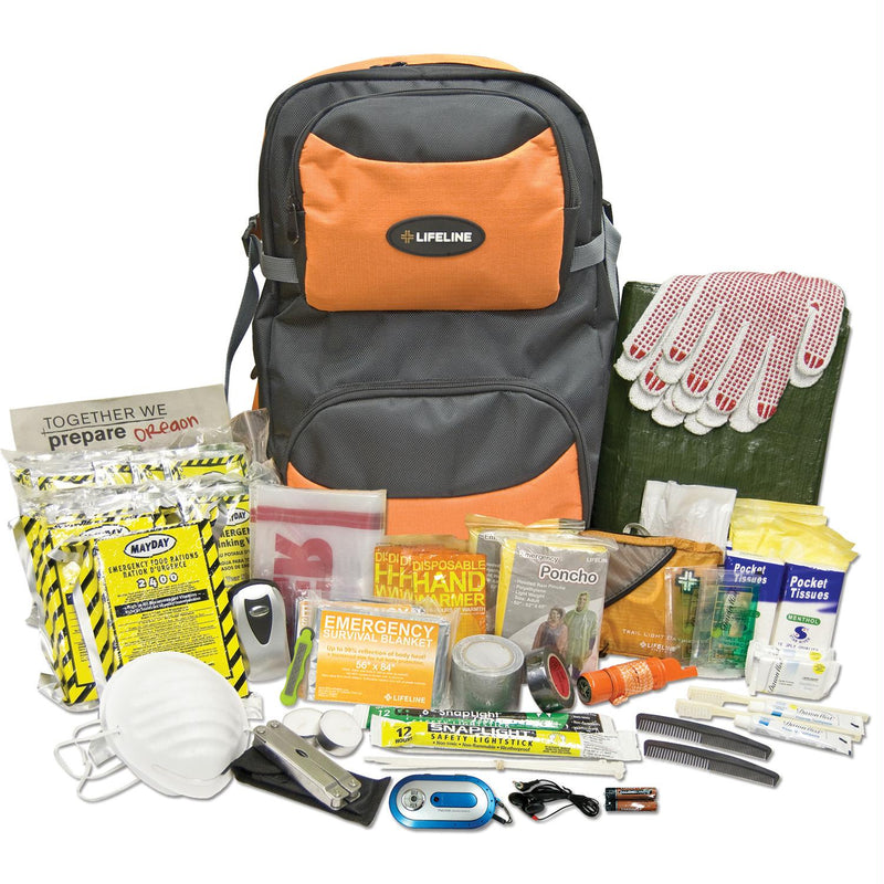 Lifeline Two Person 72 Hour Premium Kit 146 Pieces