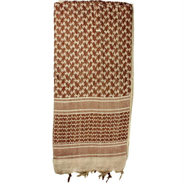 Red Rock Gear Shemagh Head Wrap Tan-Brown