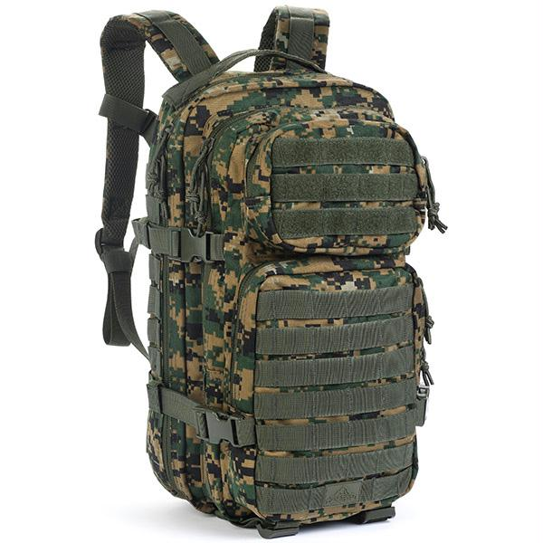 Red Rock Gear Assault Pack Woodland Digital