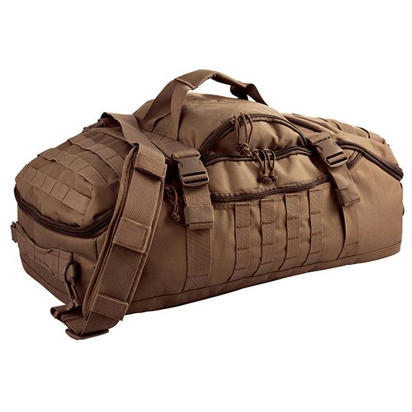 Red Rock Gear Traveler Duffle Bag Dark Earth
