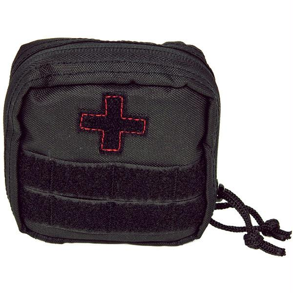 Red Rock Gear Soldier Individual First Aid Kit Black