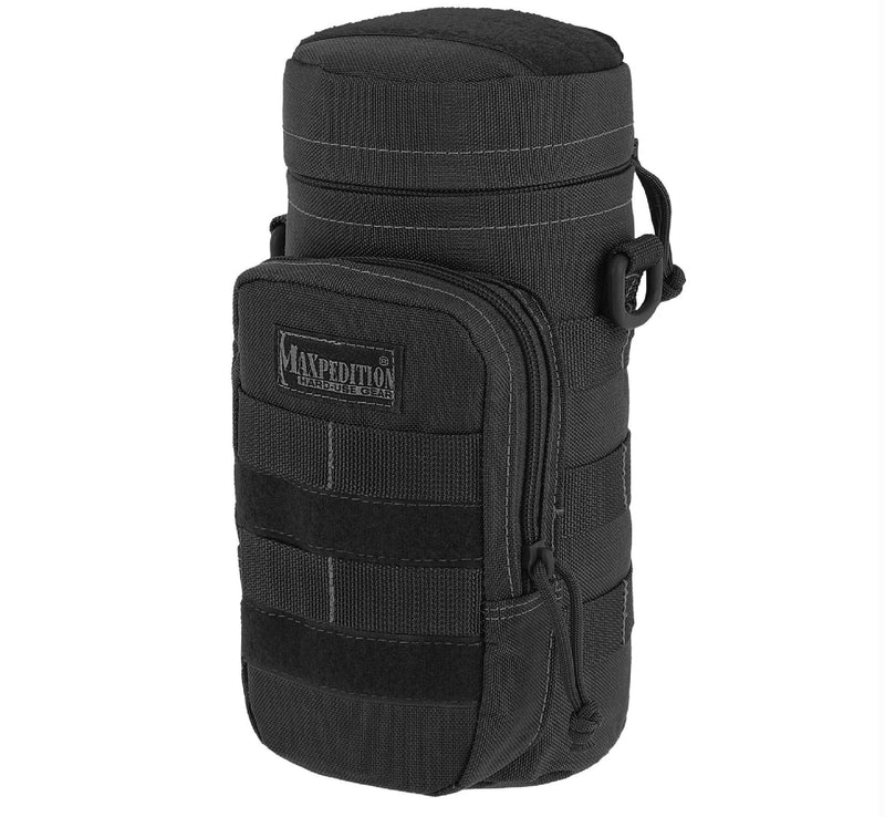 Maxpedition Bottle Holder Black 10 Inch x 4 Inch