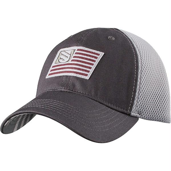 Blackhawk Foam Mesh Back Fitted Cap Slate-Steel M-L