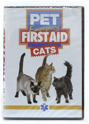 Mayday Pet Emergency First Aid DVD - Cats