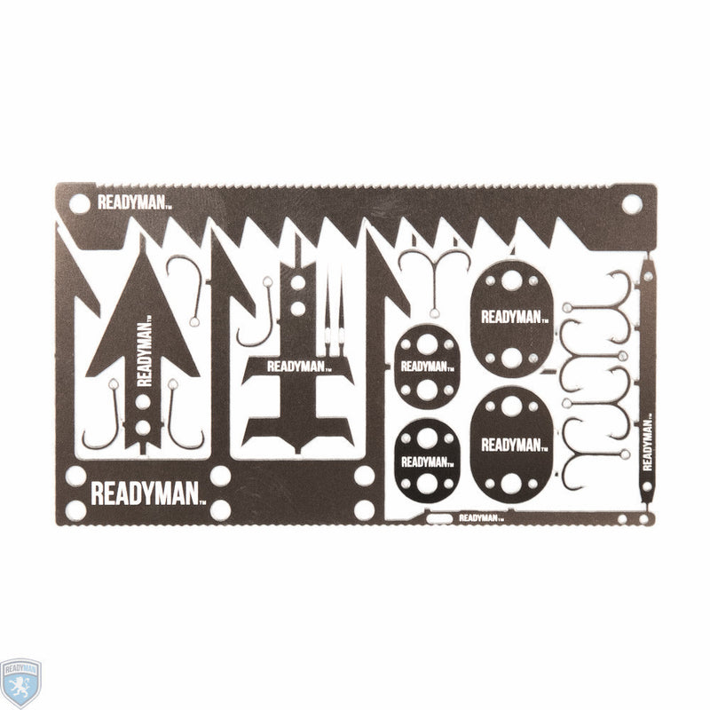 ReadyMan Wilderness Survival Card