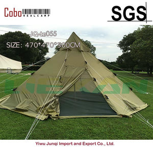 Winterial Teepee Tent Survival Camping Polyester Tee Pee SOlive