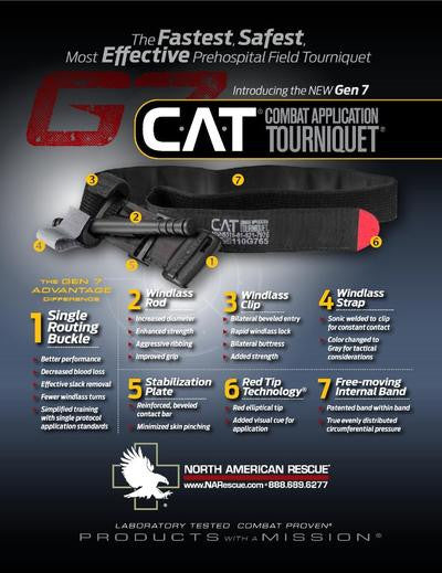 Cat 2 Tourniquet Generation 7 from MyMedic