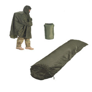 Snugpak Jungle Poncho-Jungle Bag-Dri-Sak Bundle - Olive