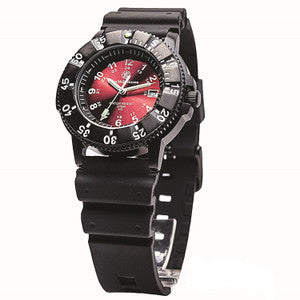 Smith & Wesson Diver Watch  - Swiss Tritium Red or Yellow Dial
