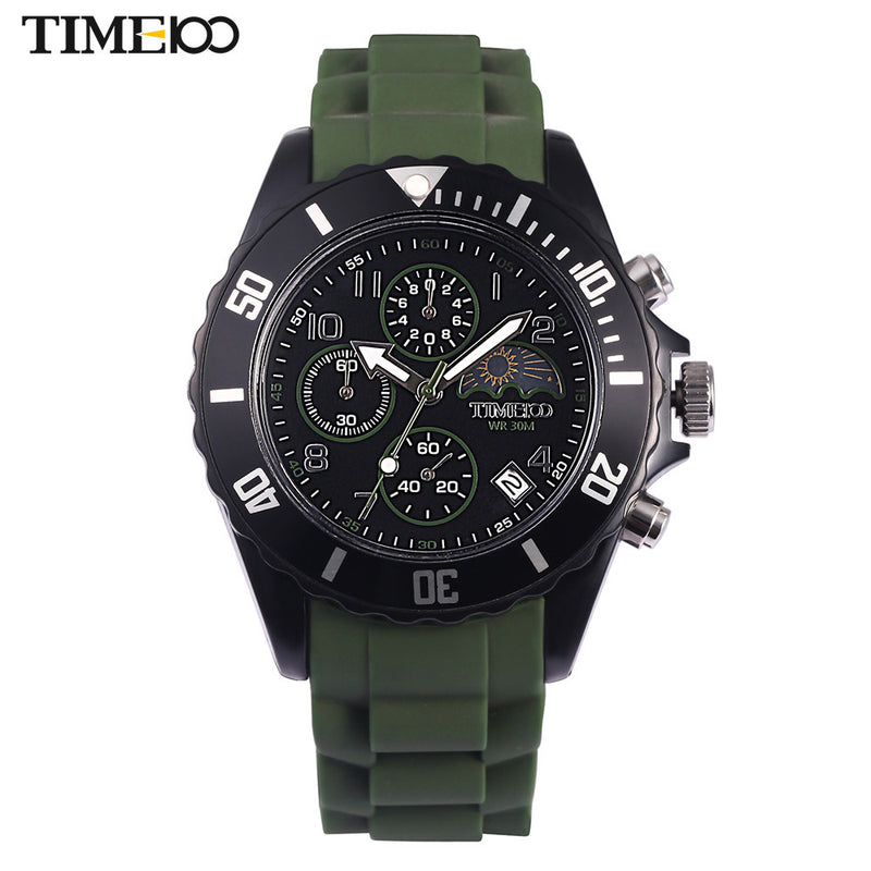 Time 100 Mens Watch Sport Waterproof