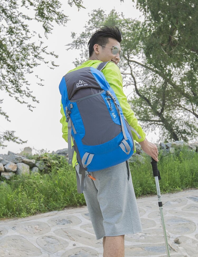 Foldable Lightweight Backpack Hiking And Climbing  35L