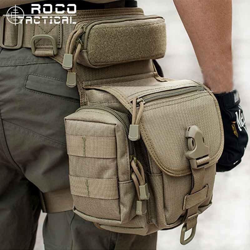 ROCO Tactical Drop Leg Bag  Cordura