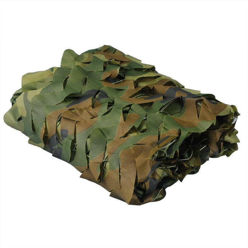 1M by 2M Woodland Camo Netting