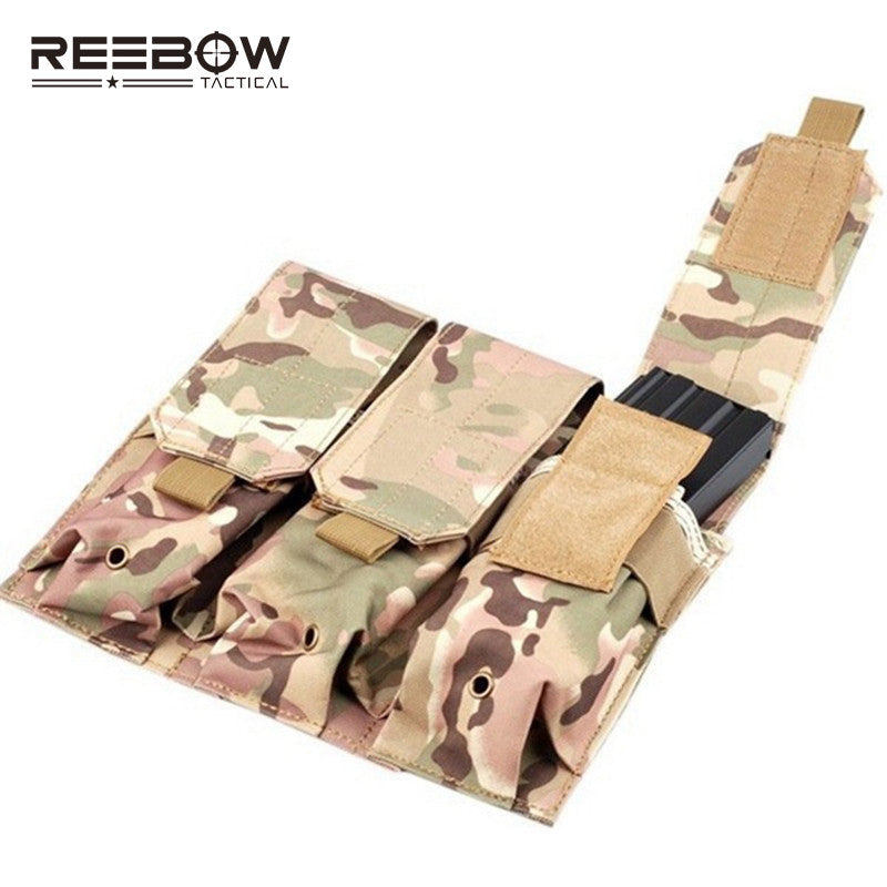 REEBOW TacticalL Multi-functional Triple Mag MOLLE PALS