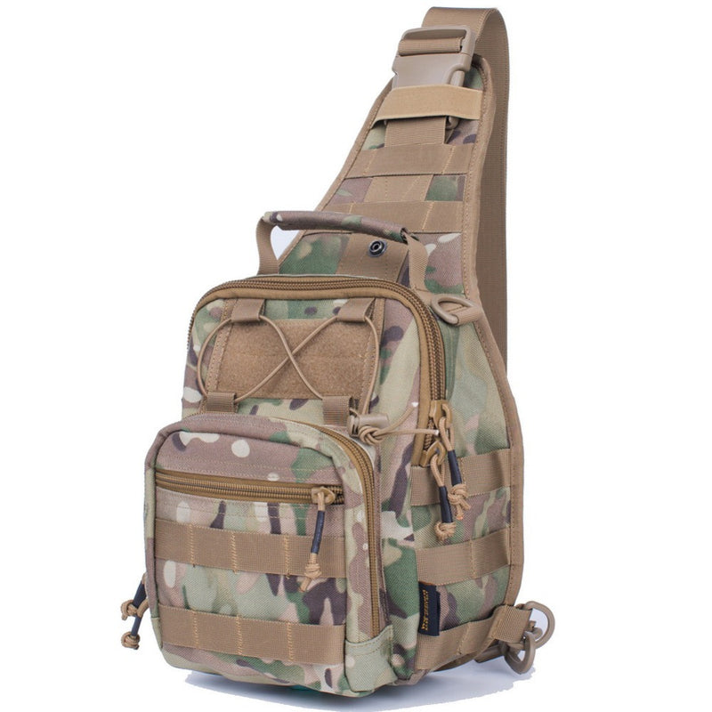 REEBOW Tactical Sling Bag Molle  1000D Cordura