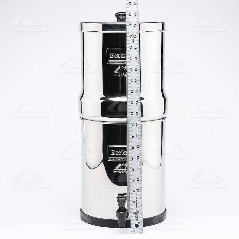 Big Berkey® System (2.25 gal) with 4 Black Filters