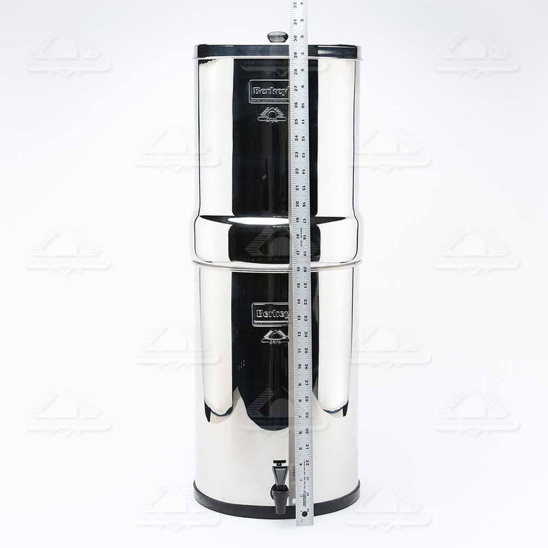Crown Berkey™ System (6 gal) with 8 Black Filters