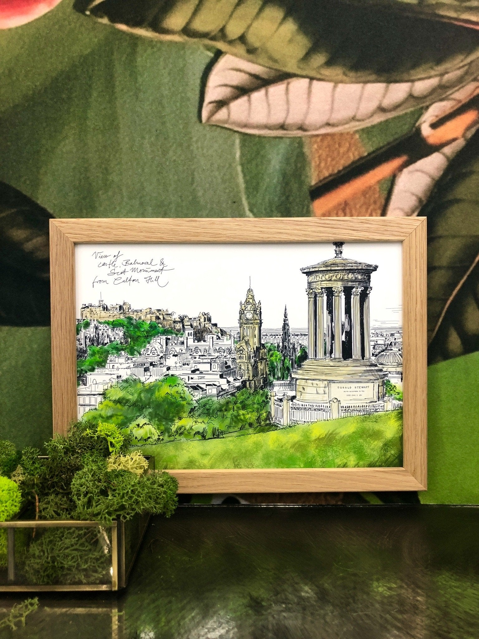 Calton Hill Edinburgh A3 Print