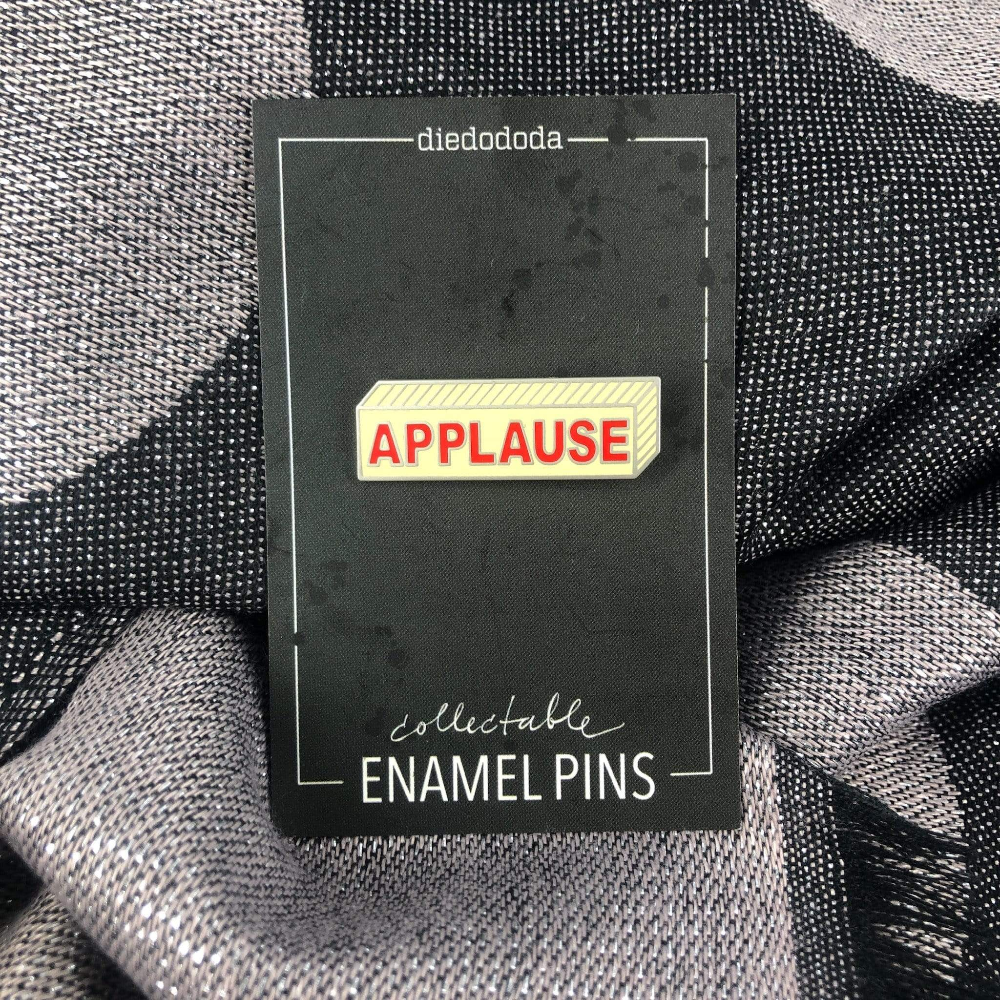 Applause Sign Pin