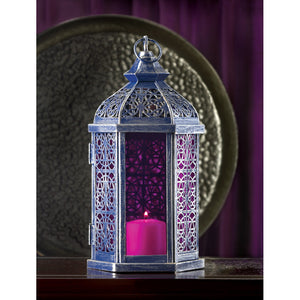 Purple Candle Lantern gothic home decor